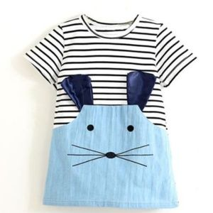 """Other - Boutique little girl's dress """"mouse"""" size 6,8"""
